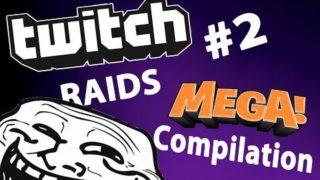 4CHAN Twitch Raids #2  – MEGA COMPILATION